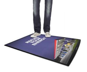 Podlahové plakátové poutače