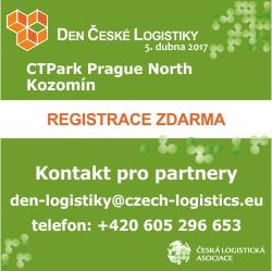 Registrace na veletrh DEN ČESKÉ LOGISTIKY